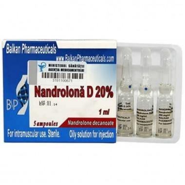 Nandrolona D 20% Нандролон Деканоат 200 мг/мл, 10 ампул, Balkan Pharmaceuticals в Талдыкоргане
