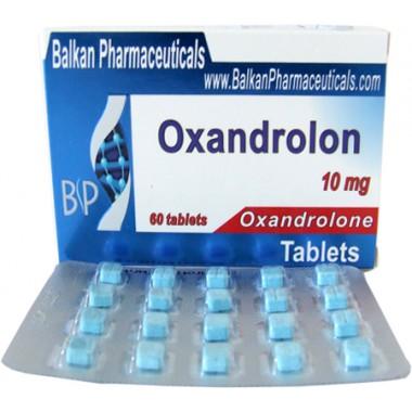 Oxandrolon Оксандролон 10 мг, 100 таблеток, Balkan Pharmaceuticals в Талдыкоргане