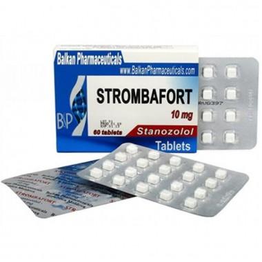 Strombafort Стромбафорт 10 мг, 100 таблеток, Balkan Pharmaceuticals в Талдыкоргане