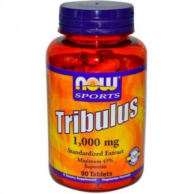 Tribulus Трибулус 1000 мг, 90 таблеток, Now Sports в Талдыкоргане
