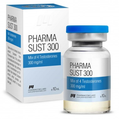 PHARMASUST 300 Тестостерон Микс 300 мг/мл, 10 мл, Pharmacom LABS в Талдыкоргане