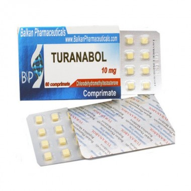 Turanabol Туринабол 10 мг, 100 таблеток, Balkan Pharmaceuticals в Талдыкоргане