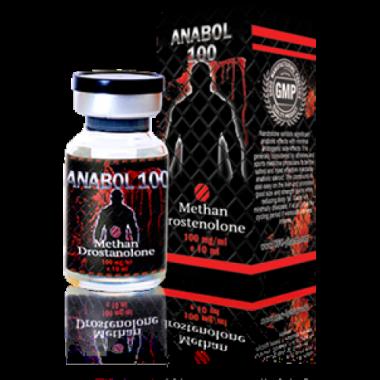 ANABOL 100 Инъекционный Метан Метандростенолон 100 мг/мл 10 мл, UFC PHARM в Талдыкоргане