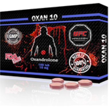 OXAN 10 Оксандролон 10 мг, 100 таблеток, UFC PHARM в Талдыкоргане