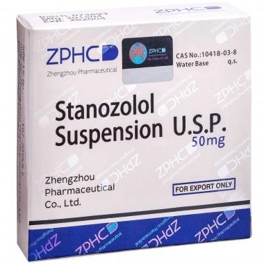 Stanozolol Suspension Станозолол суспензия 50 мг, 10 ампул, ZPHC в Талдыкоргане
