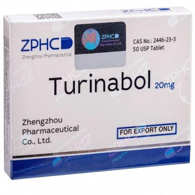 Turinabol Туринабол 20 мг, 50 таблеток, ZPHC в Талдыкоргане