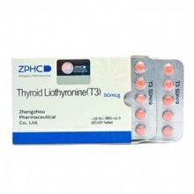 Thyroid Liothyronine T3 Трийодтиронин 50 мкг, 50 таблеток, ZPHC