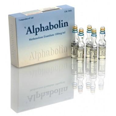 Alphabolin (Метенолон) Alpha Pharma 10 ампул по 1мл (1амп 100 мг) в Талдыкоргане